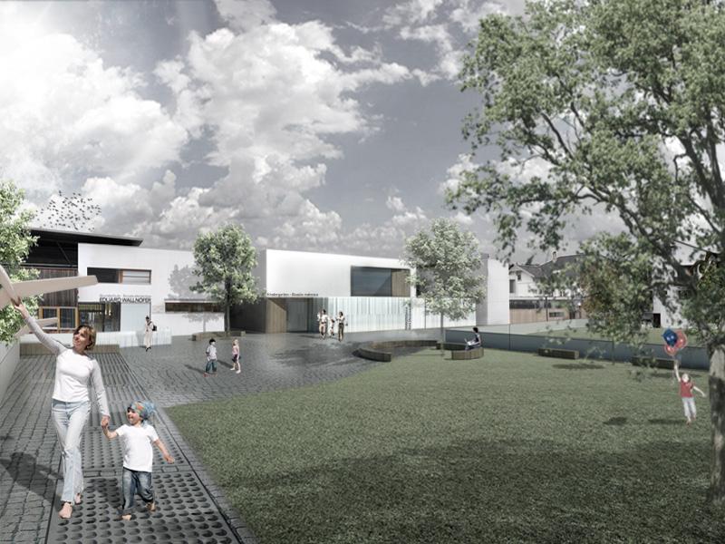 2012 - Kindergarten Schluderns  - architecture competition