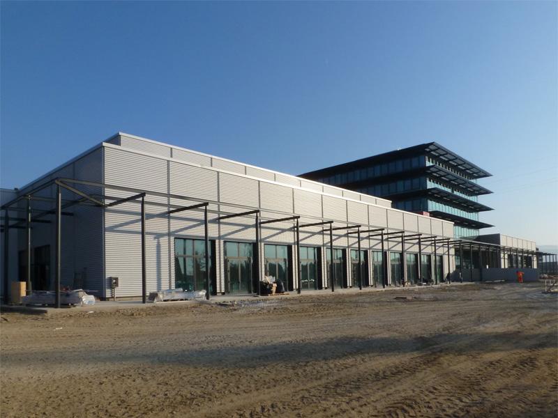 2012 - Arezzo Fair Extention  - architectural site supervision