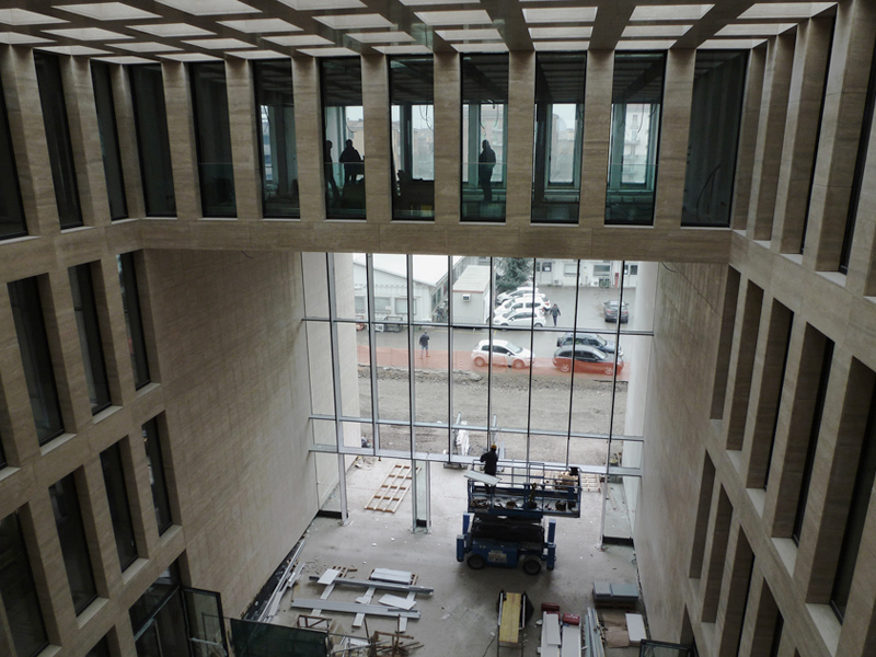 2012 - Navile Tre offices  - Project-management and architectural site supervision